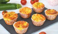 Muffins aux légumes à 0 SP, recette de savoureux petits muffins très légers, sans matière grasse et sans farine, facile et parfait à réaliser pour un repas du soir accompagné d'une bonne salade.