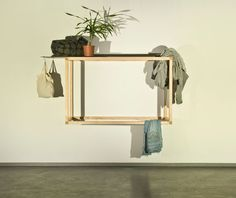 'The living structure' furniture concept by David Hanauer