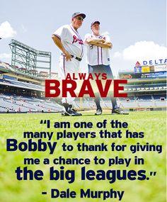 Former Atlanta Brave, Dale Murphy, comments on legendary coach Bobby Cox.