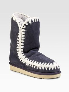 Always have wanted mou boots.