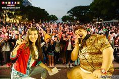 Fotos do domingo no Festival Latino Americas 2017 no Central Park de Nagoya (Aichi), confira!