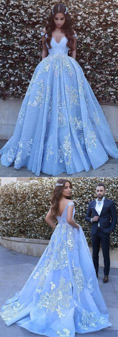 Ball Gown Prom Dress, Light Blue Tulle Ball Gowns Prom Dresses Lace Appliques Off Shoulder Shop Short, long ball gowns, Prom ballroom dresses & ball skirts Pretty ball gowns, puffy formal ball dresses & gown Tulle Ball Gown, Ball Gowns Prom, Tulle Prom Dress, Ball Dresses, Lace Dress, Evening Dresses, Party Dress, Pink Ball Gowns, Long Prom Dresses