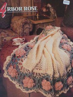 Arbor Rose Afghan  Annie's Crochet & Afghan by CarolsCreations77, $1.50