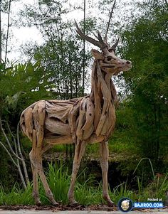 Most Amazing Driftwood Sculptures (17 Photos)                                                                                                                                                                                 More