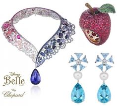 "Chopard ""Disney Princess Collection"" to debut at Harrods for Holiday Season  #disney #disneyjewelry #chopard"