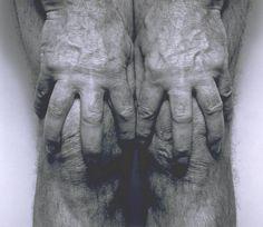 John Coplans, 'Self-Portrait (Hands Spread on Knees)' 1985