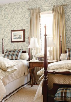 Thibaut Wallpaper - Residence Damask - Residence collection