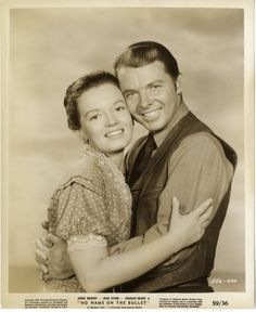 NO NAME ON THE BULLET - Joan Evans and Audie Murphy