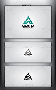 ADANTA Logo Template - Letters Logo Templates