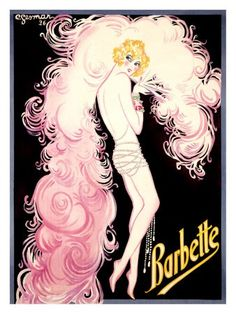 Barbette / Vander Clyde, a trapeze artist who performed in drag and revealed his masculinity at the end of each act