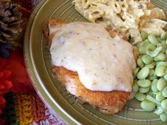 Country-Fried Chicken With Gravy Recipe - Food.com