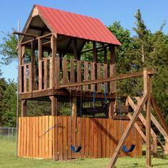 Tree house/playground