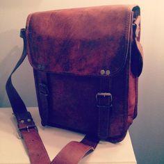 New Bag, Leather Satchel, Messenger Bag, Handmade Gifts, Instagram Posts, Bags, Fashion, Kid Craft Gifts, Handbags