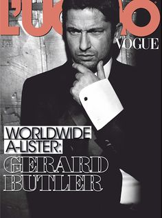 Gerard Butler, L'Uomo Vogue January 2013