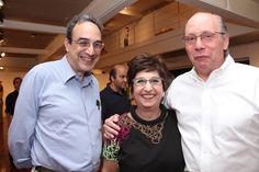 Carlos Augusto Calil, Vilma Eid e Aloisio Cravo