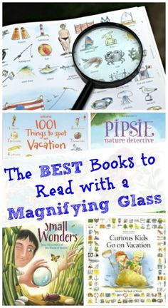 Fun find the clues and more detective type books & activities! Great idea for connecting reading & science tools!
