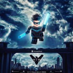 THE Dark Knight Archivist ✌ (@historyofthebatman) on Instagram DC Comics - Nightwing - LEGO