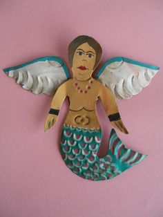 Tin Angel - Mexican Metal Art
