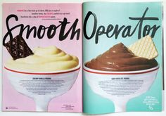 Cool use of texture, vintage look Love Magazine, Magazine Design, Editorial Layout, Editorial Design, Publication Design, Chocolate Pudding, Inventions, Design Inspiration, Sweets