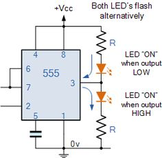Sinking and Sourcing the 555 Timer