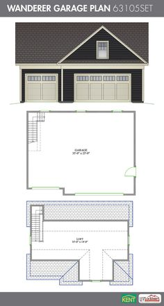 1000 Images About Garage Plans On Pinterest Home