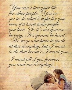 5. The #Notebook - 33 of the Most Famous, #Romantic Movie #Quotes ... → #Movies #Story