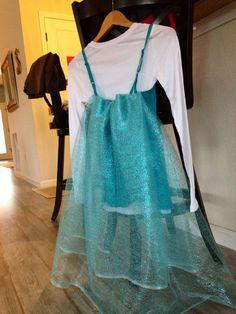 The back! Elsa running costume!
