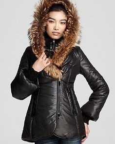 2642a3fc Mackage Peaches Shiny Puffer Coat with Bell Sleeves Women - Bloomingdale's