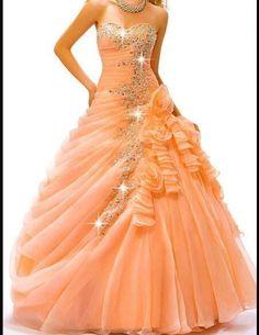 Orange Dress!!