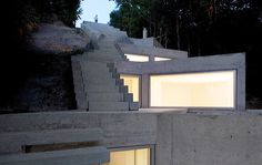 Tolo House by architect Alvaro Leite Siza in Penafiel, Portugal.