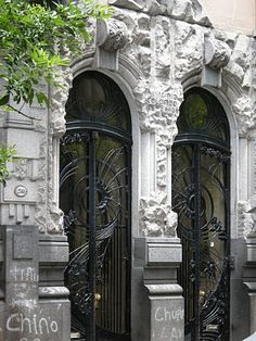 Liberty in Buenos Aires- Arch Virginio Colombo, Ercole Pasina Most Beautiful Cities, Wonderful Places, Places Around The World, Around The Worlds, Art Nouveau Arquitectura, The Doors Of Perception, Old World Style, Unique Architecture, Dream Home Design