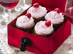 Rosé Wine Cupcakes