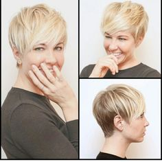 Blonde Pixie - love this one!