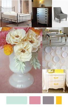 Bedroom Redecoration Mood Board