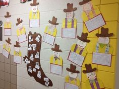 Cowboy creative writing, craft and vocab words with pictures. Rodeo Crafts, Cowboy Crafts, Cowboy Theme, Western Theme, Bible Crafts, Kid Crafts, Writing Ideas, Creative Writing, Daycare Themes