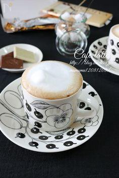特別な道具や材料は使いません。  おうちで簡単にカフェの様なふわっふわなカフェラテを入れる事が出来ます。