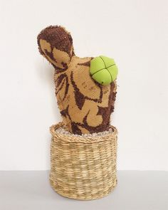 Medium Cacto 18€ Project, Gingerbread Cookies, Teddy Bear, Toys, Animals, Prickly Pear Cactus, Animais, Ginger Cookies, Animales