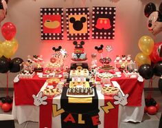 Mickey Mouse Party  | CatchMyParty.com