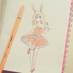 school doodling