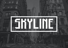 Il mio Amico, Matteo Proietti e la sua Font Skyline