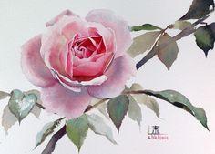Художник Sattha Homsawat живет в Тайланде. Акварельная техника,
