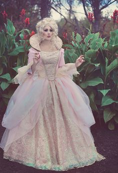 $1,450.00 Upscale Fantasy Costume Fairy Godmother from by RomanticThreads