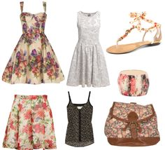 Summer Fashion Trends by Audrey McClelland