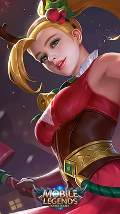 ML Wallpaper - Karina Christmas Cheer Heroes Assassin Mage of Skins Rework Batman Arkham City, Batman Arkham Origins, Gotham, Mobile Legend Wallpaper, Hero Wallpaper, Mikasa Ackerman Cosplay, Miya Mobile Legends, Vocaloid Cosplay, Anime Cosplay