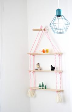 25 Ways to DIY a Dreamy Baby Room via Brit + Co