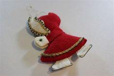 Image result for felt mitten ornaments