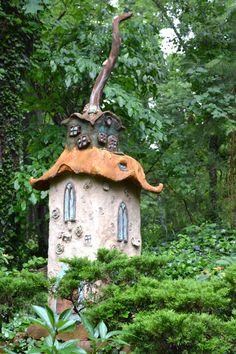 Fabulous fairy house at Wamboldtopia.