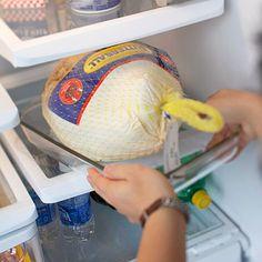 Thawing your thanksgiving turkey. Cómo descongelar el pavo???   Source: http://www.eatright.org/kids/tip.aspx?id=6442473062