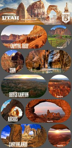 The Utah 'Mighty zal het decor zijn van de Travelhome persreis die in… Utah Vacation, Dream Vacations, Vacation Spots, Südwesten Usa, The Places Youll Go, Places To See, Voyage Usa, Utah Adventures, Us National Parks