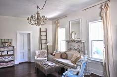 Vintage Whites Blog: Living Room Progress Report